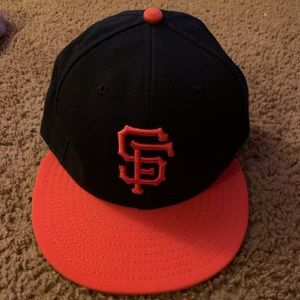 New Era San Francisco Giants fitted hat Size 7 3/8